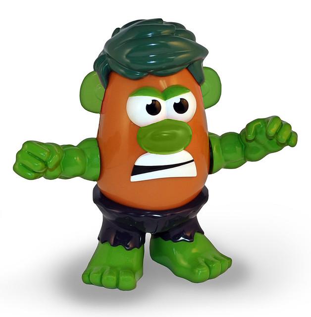 【蛋頭先生】MARVEL X Mr. Potato Head – 浩克 Hulk