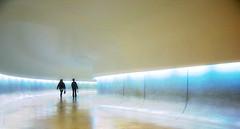 Entering the spaceship (haimember1) Tags: brazil paran brasil museum museu corridor ufo curitiba pr spaceship renata corredor ovni oscarniemeyer museuoscarniemeyer ette naveespacial espaonave