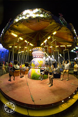 Fun Fair (Alphone Tea) Tags: travel family light holiday motion black childhood yellow kids night danger speed dark children fun happy golden amazing lowlight asia colours 14 great young fast stop cny enjoy malaysia lovely 6d 2014 ef24mmf14liiusm