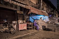Night Work (astrowerx) Tags: china shanghai streetsweeper huangpudistrict peoplesrepublicof