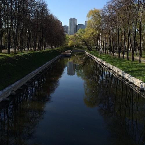 #Москва #Весна