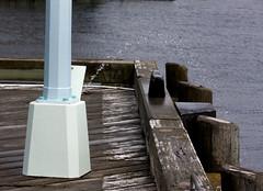 Squirt (Smith D) Tags: light art pee fountain drunk pier novascotia post pole piss halifax squire