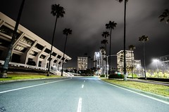 Own the Night (ATOM1_Productions) Tags: california ca city longexposure urban streets building beach architecture night lowlight nocturnal outdoor socal newport nightscene complex photogenic nightshooter pacificlife a6000 sonya6000 fashoinisland
