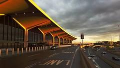 Newark, NJ (dorinser) Tags: usa newjersey airport cloudy newark newarklibertyairport