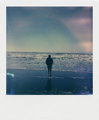 Oskar_Smolokowski_2 (Transcontinenta) Tags: blue film beach analog landscape photos approved press samples instantcamera app i1 9001 istillshootfilm impossibleproject impossiblei1