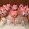Owl Themed Cake Pops