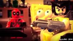 Deadpool (iSchumi) Tags: lego wilson minifig marvel lobezno deadpool legography