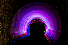 Light sabre tunnel - Drakelow WCC May -0673 (Ruth Flickr) Tags: light england lightpainting history tour secret atmosphere wcc tunnel worcestershire city17 drakelow undreground wwwdrakelowtunnelscouk