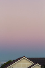 Brisbane dusk in suburbia (c_41) Tags: sky house dusk suburbia brisbane minimal gradient suburb