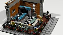 Kiosk (atkaforce1) Tags: house lego modular moc ldd