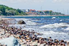 Yachthafen Khlungsborn (LB-fotos) Tags: sea beach water strand marina germany landscape deutschland wasser bokeh baltic ostsee vorpommern mecklenburg wellen khlungsborn bootshafen frontbokeh