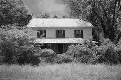 (SouthernHippie) Tags: trees sky house blur tree history abandoned home nature overgrown leaves architecture clouds rural forest ga wow georgia countryside woods pretty moody decay empty south country hidden southern forgotten serene hiding abandonment slient