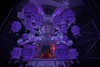 Giant Wesak Lantern (GayanDeSilva) Tags: blue red green temple buddha buddhist violet melbourne victoria lantern wesak yuroke wesak2016yuroketemple dahamnikethanaya