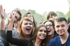 Juwenalia Slaskie (Dominik Zachariasz) Tags: park student katowice muzyka koncert zabawa studia szczescie slask juwenalia studenci koncerty umiech studentka muchowiec umiech juwenaliaslaskie