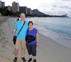 (Mitchell Lafrance) Tags: travel vacation usa holiday beach hawaii oahu pacificocean waikikibeach 2014 mitchelllafrance pageceline celinepage lafrancemitchell