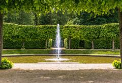 Springbrunnen (tomac_foto) Tags: park wasser outdoor springbrunnen brunnen natur grn brhl 2016 fontne schlospark