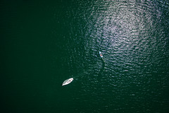 Kreuzfahrt (Chris Buhr) Tags: 3 bayern bavaria ship boote phantom schiffe segelboot tegernsee luftbild dji drohne
