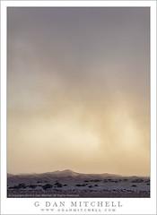 Dust Storm, Dunes, Evening Light (G Dan Mitchell) Tags: california park light sunset usa cloud storm nature america landscape evening sand dunes north rage national mesquite deathvalley dust