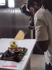 Kitchen Crisis (Halcon122) Tags: color kitchen newspaper professional kingston shooter ja july4th gleaner usembassy cmr personalrecipes olympusem5markii