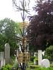 Grave at Žale Cemetery, Ljubljana, Slovenia (Wiebke) Tags: grave ljubljana slovenia europe vacationphotos travel travelphotos žale žalecentralcemetery cemetery centralnopokopališčežale pokopališče bežigrad bezigrad