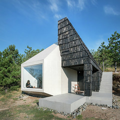 2- House in Divcibare (edwardkoluor) Tags: wood house mountain architecture contemporary serbia cottage minimal tiles minimalism srbija divcibare arhitektura planina vikendica divibare exestudio savremenaarhitektura