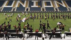 Boston Crusaders (mattchez) Tags: music philadelphia 50mm nikon stadium performance production theatrical dci staging drumcorps d800 bugle bostoncrusaders musicinmotion f14g
