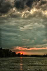 Layers of nature (freshandfun) Tags: sunset sun nature river landscape europe tisa vojvodina