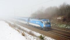 ČD 1216.235 (Tomáš Markovič) Tags: fog prague spirit brno graz taurus railjet