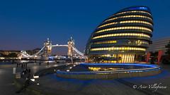 UK - England - London - City hall & tower bridge (Asier Villafranca (www.asiervillafranca.com)) Tags: londres inglaterra reinounido