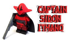 Captain Sidon Ithano (OB1 KnoB) Tags: castle crimson star force lego fig 7 mini pirate captain figure corsair wars minifig guest custom figurine episode vii maz minifigure capitaine kanata awakens sidon episode7 episodevii minifigurine theforceawakens ithano