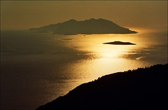 Sunset - Dodecanese islands (Katarina 2353) Tags: sunset summer seascape film nikon greece rhodes rhodos dodecaneseislands katarinastefanovic katarina2353