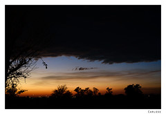 sunrise (Carlos E Corts Parra) Tags: morning clouds sunrise landscape alba paisaje amanecer nubes