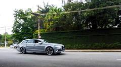 Nardo Grey. (Jean Oliveiira) Tags: beautiful car photography grey photo twin turbo fujifilm audi avant v8 sl1000 rs6 2016 nardo finepixsl1000 savethewagons