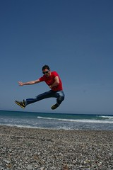 Jump! (Keith Mac Uidhir  (Thanks for 3.5m views)) Tags: jump hellas santorini greece grecia griechenland santorin grce hy thira grcia thera griekenland yunanistan  grecja     grgorszg ecko     yunani  lp santoron santoryn   gresya  ringexcellence