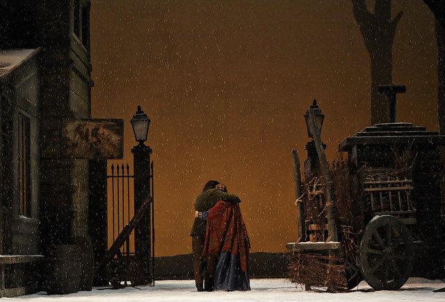 Act III of La bohème © Johan Persson/ROH 2006