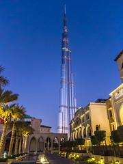 Piercing the sky (italium) Tags: dubai uae khalifa burj downtowndubai burjkhalifa