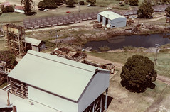 Views From Western Chimney (srv007) Tags: scan queensland watertank bundaberg bargara milldam fairymeadsugarco chimneyviews 6tonnecanebin canebinrepairshop dwmillbuilding