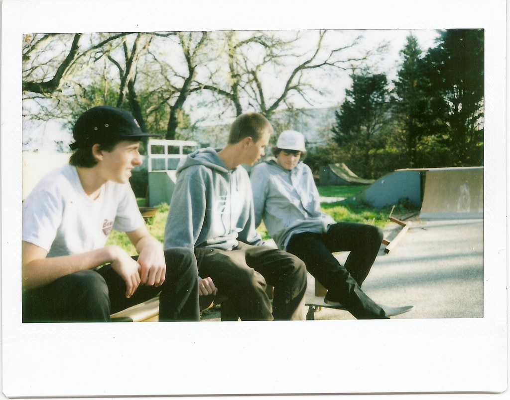 AndrewStraub Tags Alex Tom Scott Polaroid Fuji Panel 5 Skating Brandon Skate Skateboard
