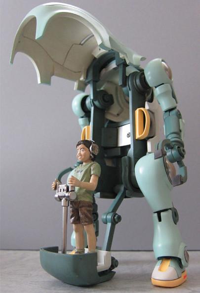 日本空想模型師小林和史WF2011 新作