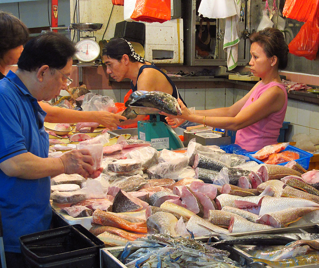 The world 39 s best photos of chinatown and fishmonger for Chinatown fish market