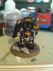 Legion of the Damned Terminator, rear view (vandalworks) Tags: marine citadel space assault 40k warhammer terminator legion damned