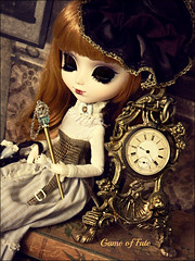 The Antique Clock (Game of Fate) Tags: pictures old clock sepia vintage photography gold google flickr photos pics antique adler dal german mysterious pullip antiqueclock isul vintagebooks vintageclock taeyang septor byul type4body gameoffate pulliphenri edwardiandoll missadler pullipgameoffate pullipdolteporte