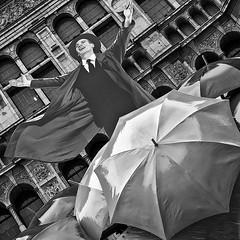 PALACE THEATRE 1 (Nigel Bewley) Tags: uk england london art rain umbrella dance theatre may streetphotography musical umbrellas mgm shaftesburyavenue palacetheatre singingintherain singinintherain cambridgecircus theatreland artphotography canonef50mmf12lusm canon1dsmkiii unlimitedphotos may2012 silverefexpro2