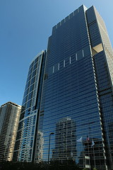 Blue Cross Blue Shield Tower, Chicago, Illinois (Mastery of Maps) Tags: city urban chicago architecture buildings illinois downtown cityscape place skyscrapers central chitown il tall highrises centralbusinessdistrict windycity neweastside downtownloop