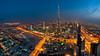 The Veins Of Dubai #12 (DanielKHC) Tags: blue roof tower night mall high nikon long exposure dubai dusk top uae khalifa hour index burj d300 bonanniversaire nikkor105mmfisheye danielcheong millebisous danielkhc happybirthdaytoyoudaniel