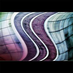 Disssstorted (jinterwas) Tags: pink blue brussels abstract architecture square colorful aqua blauw purple belgium distorted turquoise free cc creativecommons mauve brussel architectuur kleurrijk roze paars vierkant turkoois freetouse zwartkader zwarterand