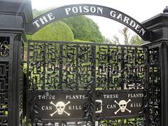 The Poison Garden (Moser's Maroon) Tags: garden gate entrance alnwick poison