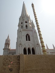 San Thome (Rajesh_India) Tags: india church san sony chennai apostel thome santhomechurch