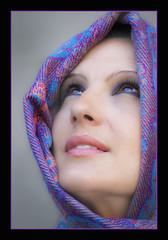 Attesa....... (celestino2011) Tags: blu occhi sguardo seta ritratto nikond60