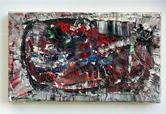 Jean-Paul Riopelle, Composition, 1977, galerie Besseiche, rue Gungaud, Paris, 27 mai 2012 (Stphane Bily) Tags: paris art composition painting montral peinture qubec oil 1977 oilpainting vitrine huile allover riopelle peinturelhuile jeanpaulriopelle ruegungaud stphanebily galeriebesseiche
